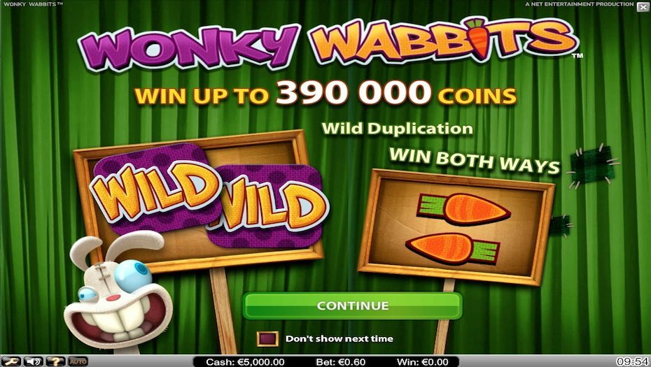 casino bonus online wonky