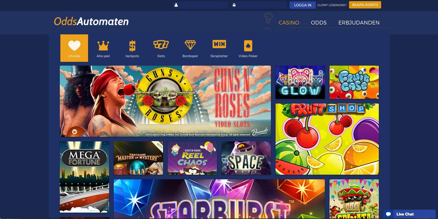 ett nytt svenskt casino