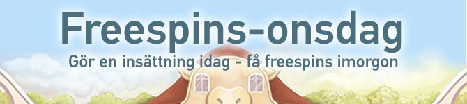 freespins onsdag