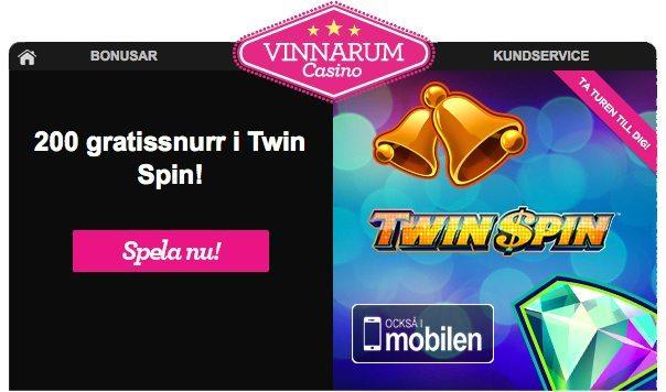 vinn 200 free spins