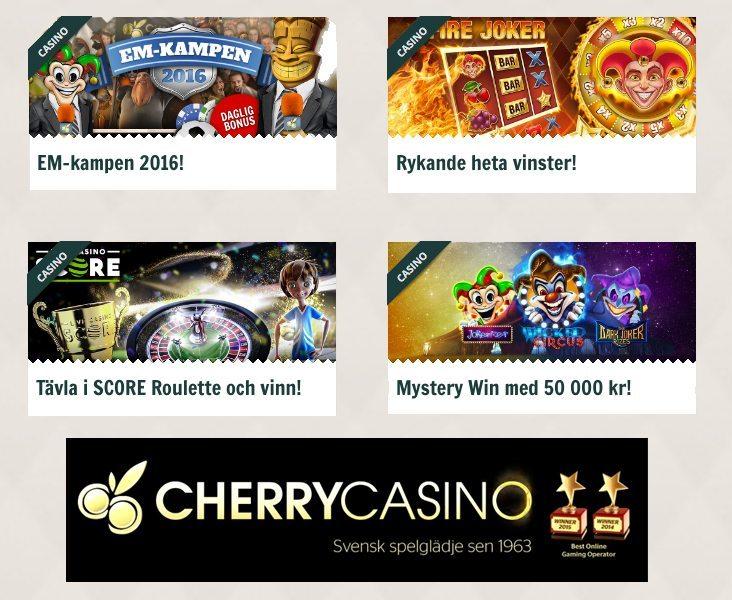 Cherry casino i juni