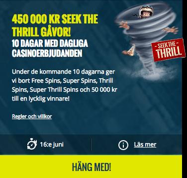 Seek the Thrill