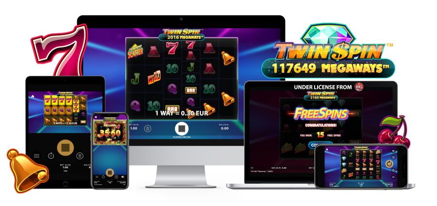 Twin Spin Megaways slots från NetEnt
